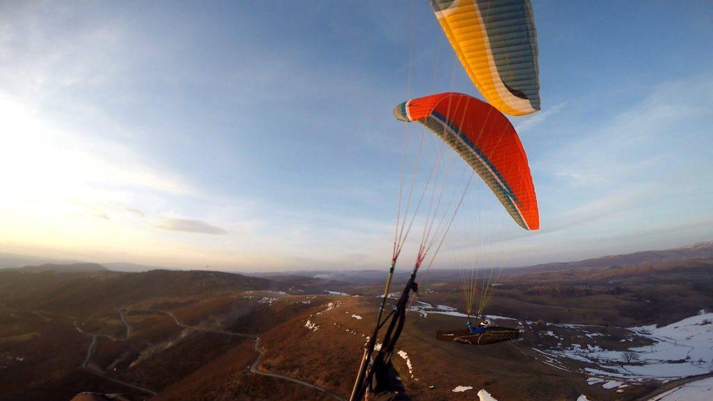 foto van paragliding